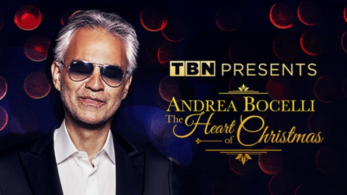 The Heart Of Christmas.Andrea Bocelli The Heart Of Christmas On Tbn Uk Freeview